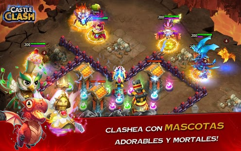 Castle Clash: Era de Bestias- screenshot thumbnail