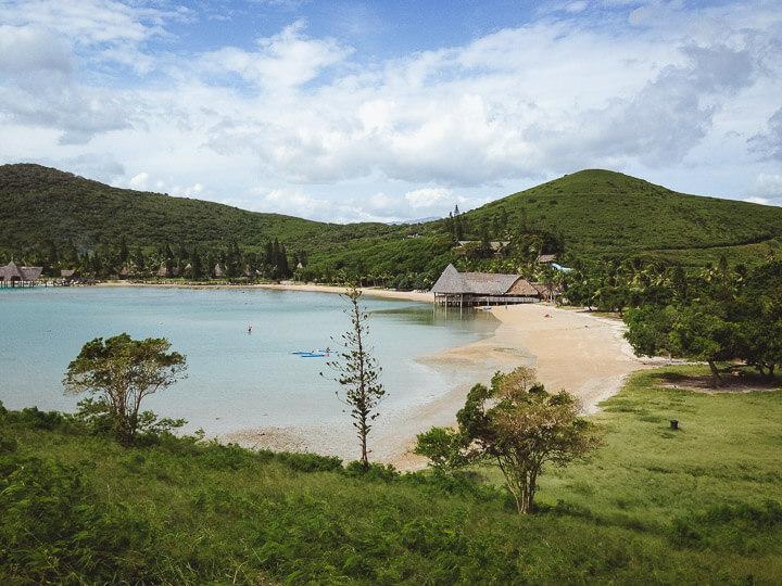 Great weather at Kuendu beach in Noumea, New Caledonia.