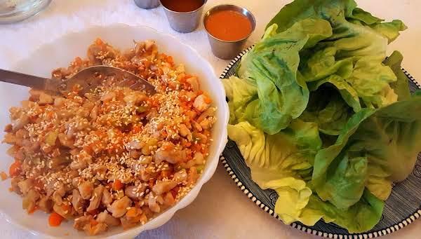 Asian Style Chicken Lettuce Wraps
