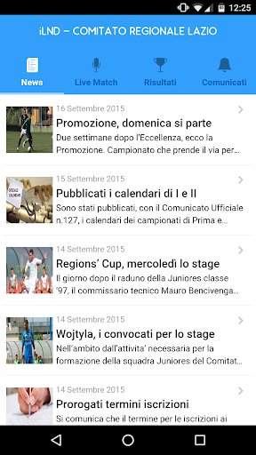 iLND - Lazio