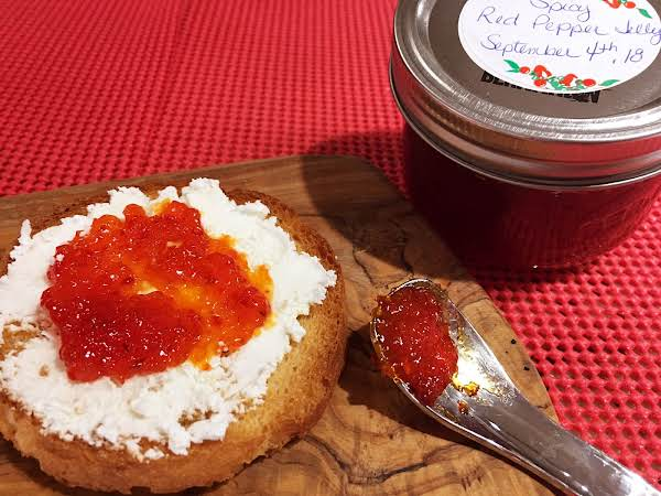Spicy Red Pepper Jelly Recipe