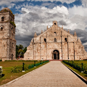 Paoay Church by Dj Hostalero - Landscapes Travel ( ilocos norte, church, djmaculet, paoay )