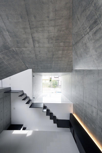 Photo: House in Abiko by fuse-atelier  photo courtesy of the architects  visit Architonic for more details: www.architonic.com/aisht/house-in-abiko-fuse-atelier/5101267