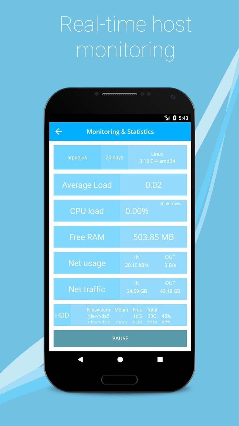 SSH/SFTP/FTP/TELNET Advanced Client - Admin Hands Screenshot 2