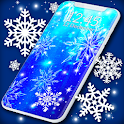 Snowflakes Live Wallpaper ❄️Snow Stars Wallpapers icon