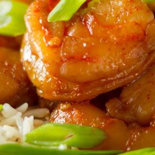 Sous Vide Sriracha Buttered Shrimp