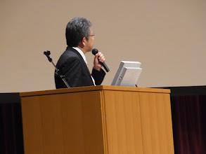 Photo: 質問に答える小坪先生