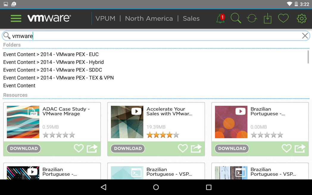 VMware Partner University- screenshot