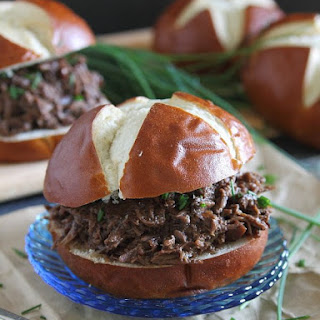 Cherry Beef Carnitas Sandwiches