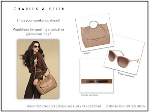 Photo: Would you be sporting a casual or glamorous look this weekend?  Visit your nearest store or CharlesKeith.com to find out more.