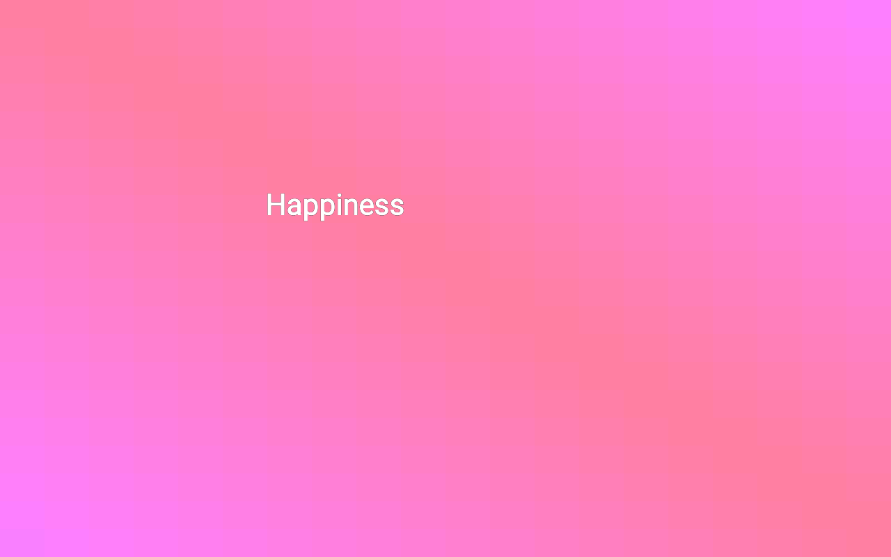 Happiness- screenshot