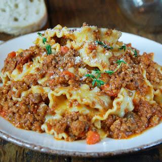 Classic Bolognese Sauce Recipe
