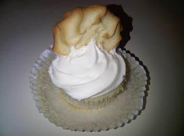 Lemon Cupcakes with Lemon-Mint Frosting
