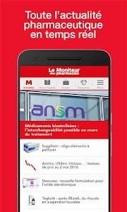 Le Moniteur des pharmacies.fr screenshot 0
