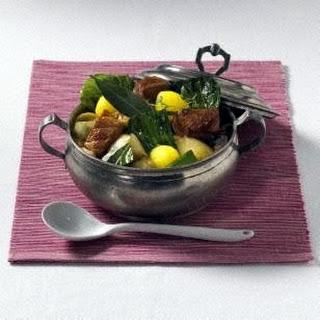 Weißkohl-Gulasch-Topf
