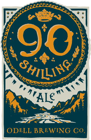 Logo of Odell 90 Shilling Ale