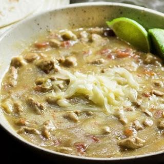 Crock Pot Pork Chile Verde.