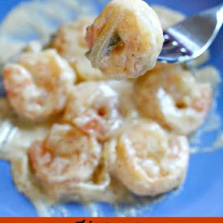 Shrimp in Jalapeno Cream Sauce.