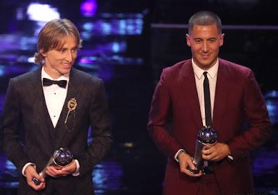 De stemmen van Hazard & Martinez bij 'Speler van het Jaar'