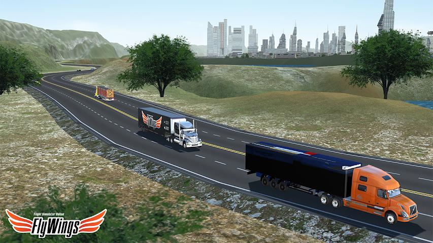 android Truck Simulator 2016 Free Game Screenshot 6