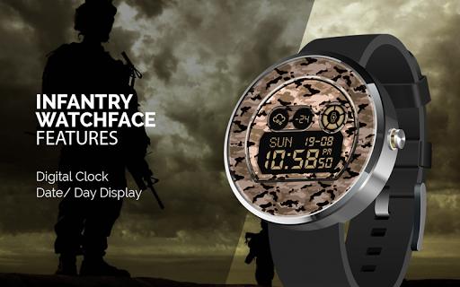 Infantry Watchface Free