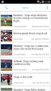 Fresno State Collegian- screenshot thumbnail
