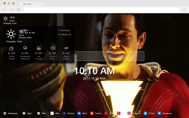 Billy Batterson HD New Tabs Popular DC Themes