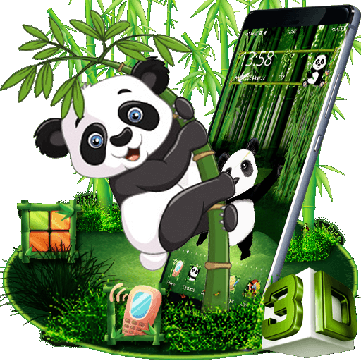download gambar terlucu  cartoon panda 3d theme aplikace na google play