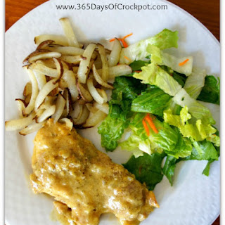 Recipe for Slow Cooker Honey Mustard Chicken