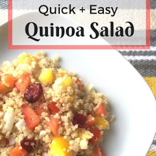 Quick & Easy Quinoa Salad.