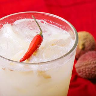 Lychee-Thai Chili Lemonade.