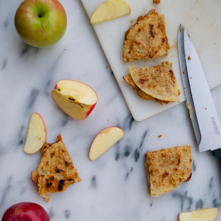 Pumpkin Apple Quesadillas