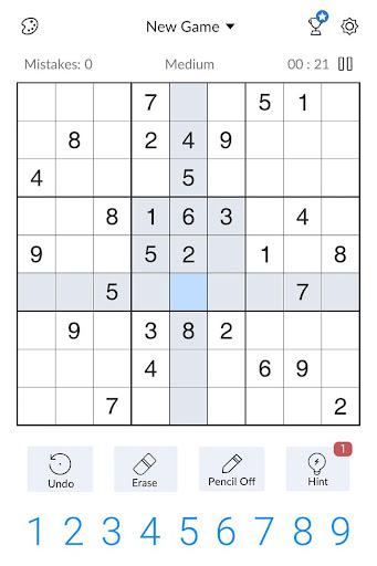 Sudoku - Free Classic Sudoku Puzzles screenshots 13