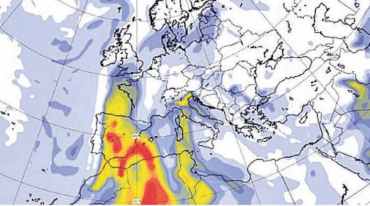 La amenaza del 'polvo africano' se cierne sobre el cielo almeriense