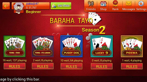 Baraha Tayo  gameplay | by HackJr.Pw 2