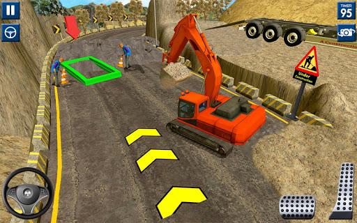 Code Triche lourd excavatrice simulateur 2020: 3d excavatrice APK MOD screenshots 3