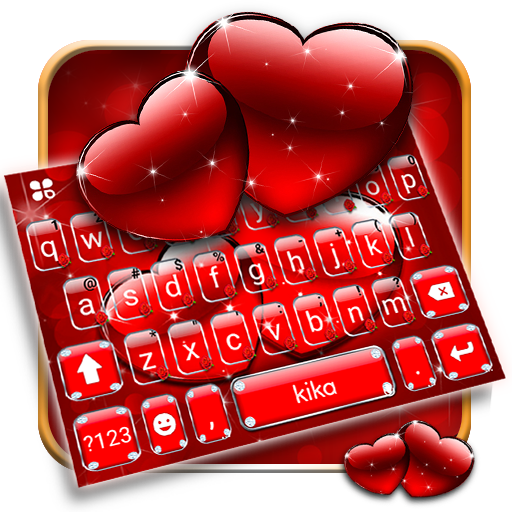 Red Love Keyboard Theme Icon