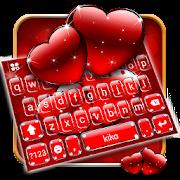Red Love Keyboard Theme APK for Bluestacks
