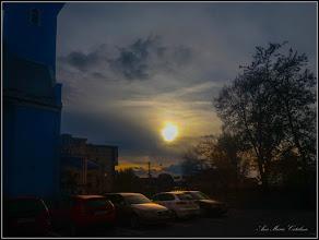 Photo: Calea Victoriei, imagine din parcare - 2017.11.12