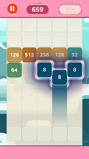 Merge Block Puzzle - 2048 Shoot Game free for PC-Windows 7,8,10 and Mac apk screenshot 5