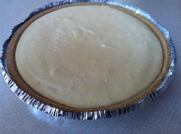Pour into prepared pie crust. (you can make your own crust by mixing 1...