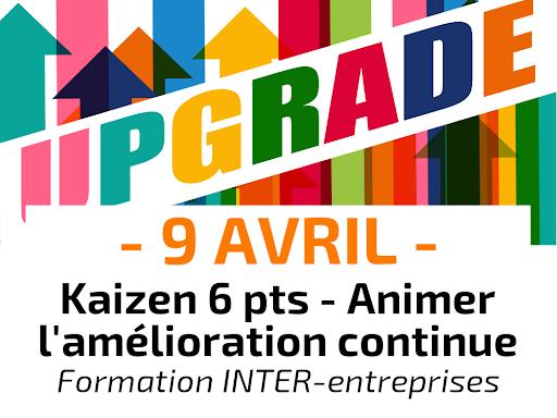 Kaizen 6 points Animer l'amélioration continue Formation Inter-entreprises