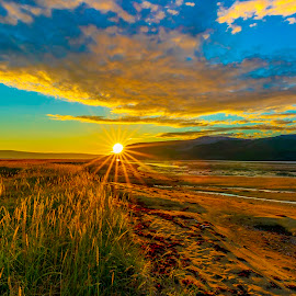 Austertana by Jonas Bohlin - Landscapes Sunsets & Sunrises
