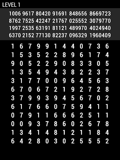 Number Search 1st android2mod screenshots 8