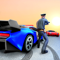 US Police Gangster Car Chase 2019 icon
