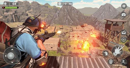 Code Triche Free Firing Commando - Counter Attack FPS 2019 APK MOD screenshots 4