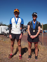Photo: Our 2012 USA 50k Trail Running National Champions Max King and Erica Barton