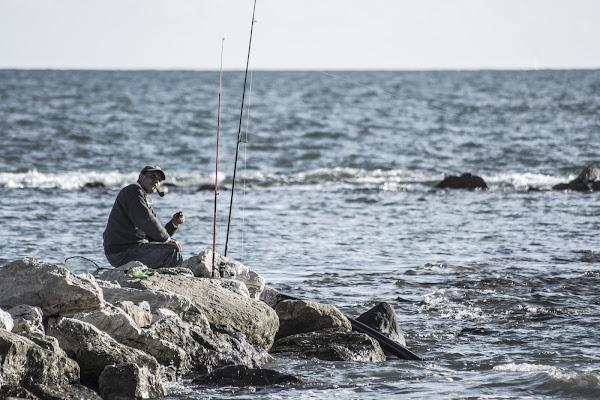 Il pescatore  di FotografoPerCaso