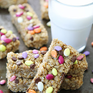 No-Bake Sunflower Butter Granola Bars