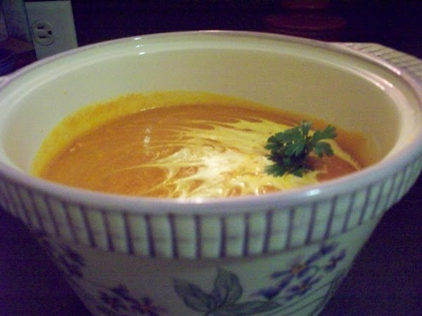 Carrot Soup, Chilled With Currry Powner Recipe